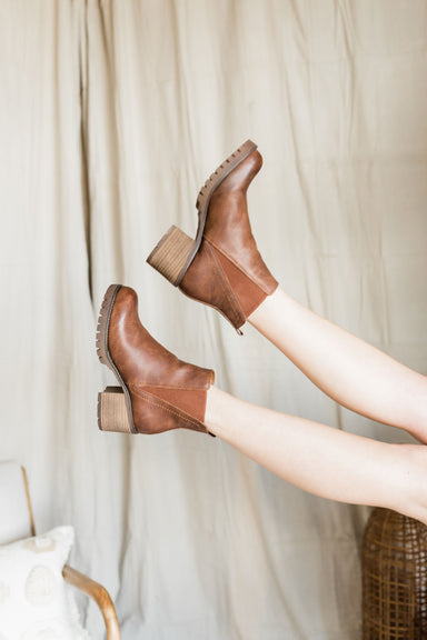 Made For Walkin' Booties - Brown