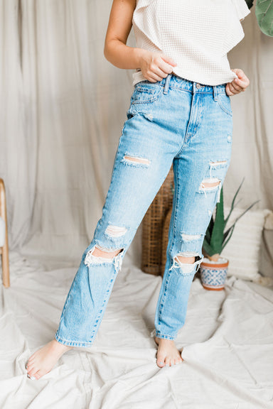 The Can't Touch This Jeans - Medium Light