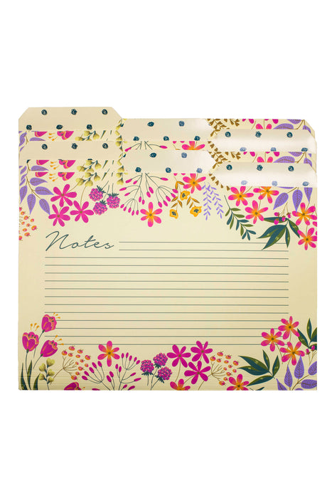 File Folders, Wildflowers