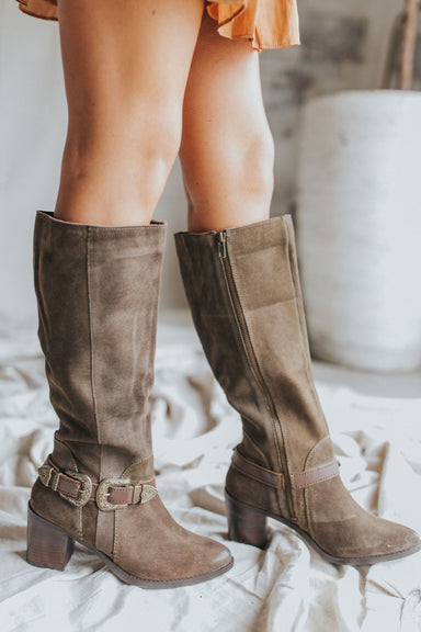 Preach to the Choir Boots - Dark Olive