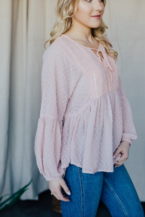 Wonder Seeker Blouse - Mauve