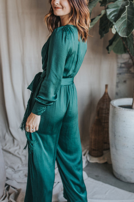 Joyful Jumpsuit - Green