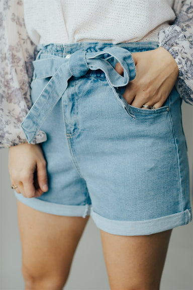 Those Summer Days Shorts - Light Wash