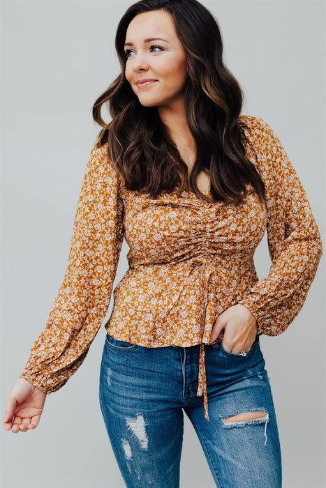 One Sweet Day Top - Butterscotch