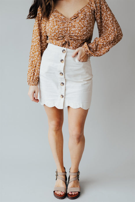 Remain Classic Skirt - Natural