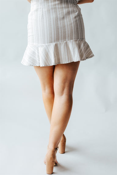 Shore to Shore Skirt - Oatmeal