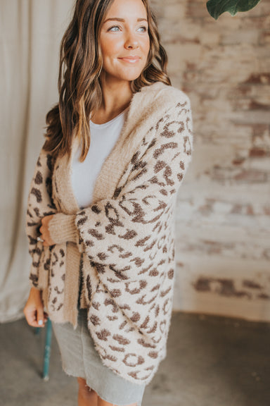 Only Fur You Cardigan - Brown