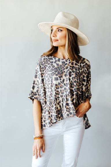 Happy Hour Tee - Leopard