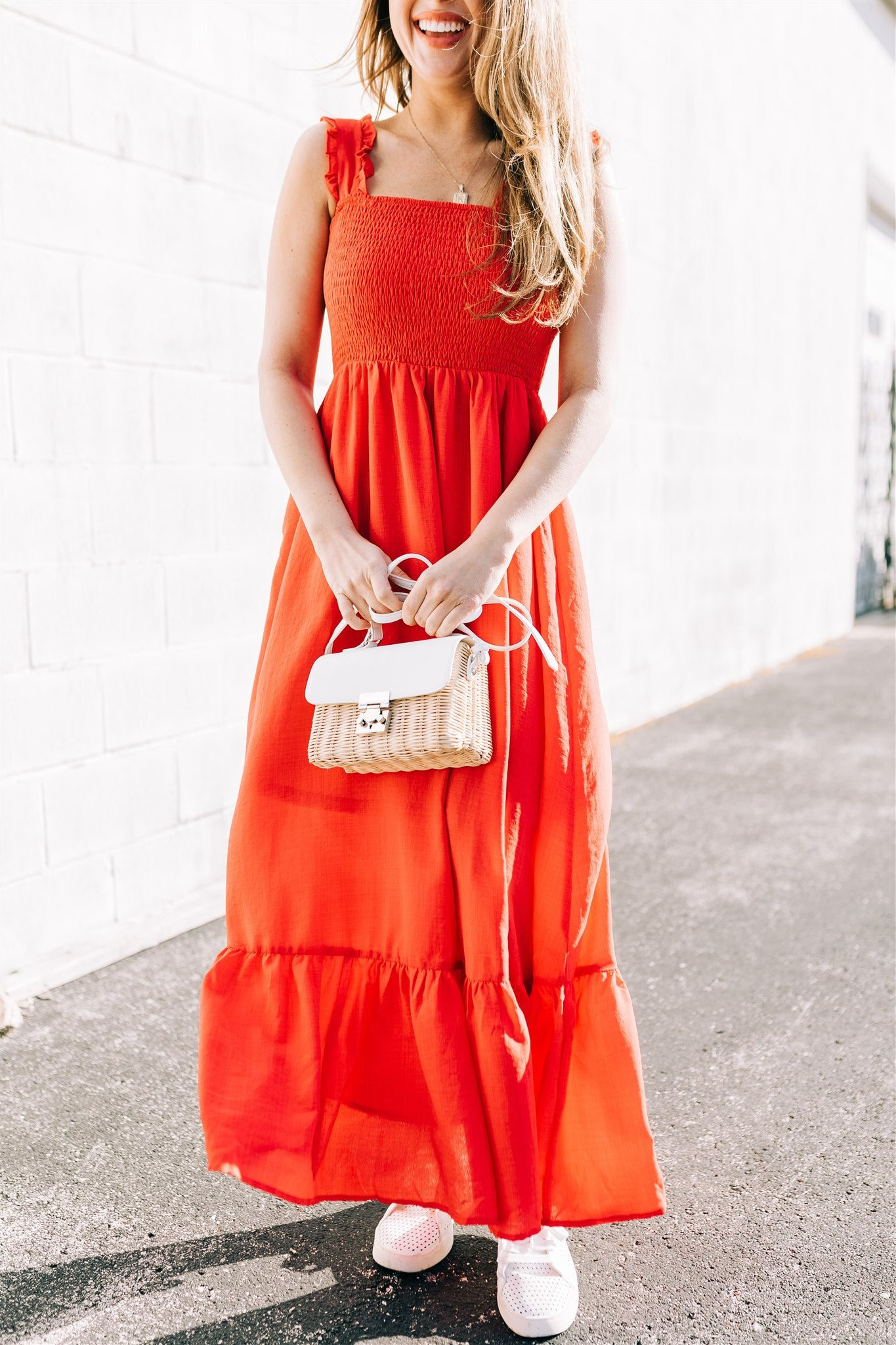 Meet You There Dress - Red