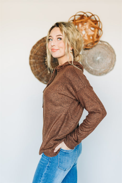 Expresso Yourself Top - Brown