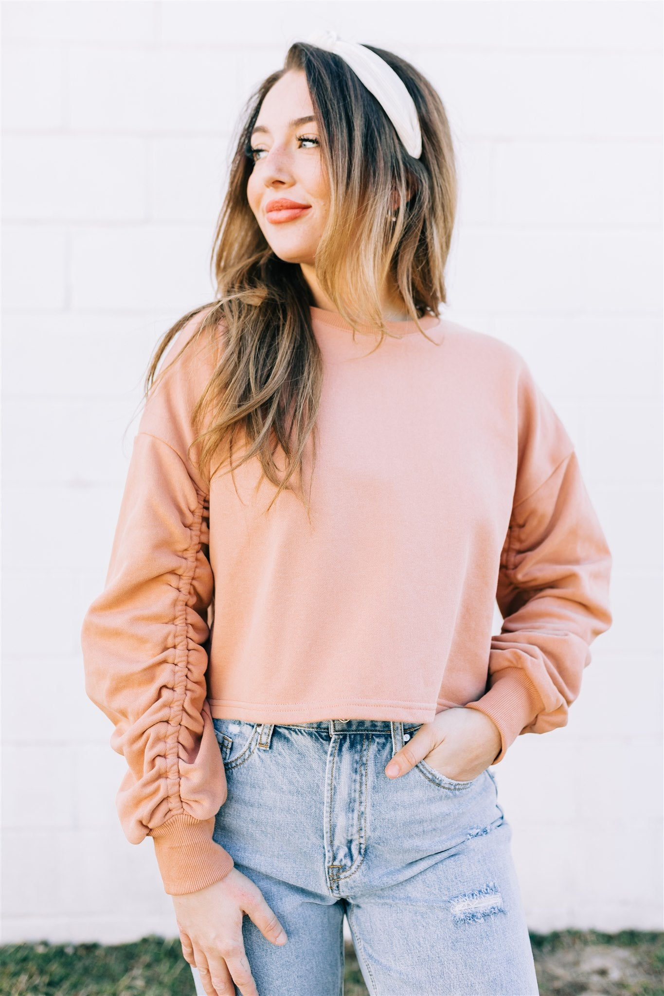 Running Late Sweatshirt Top