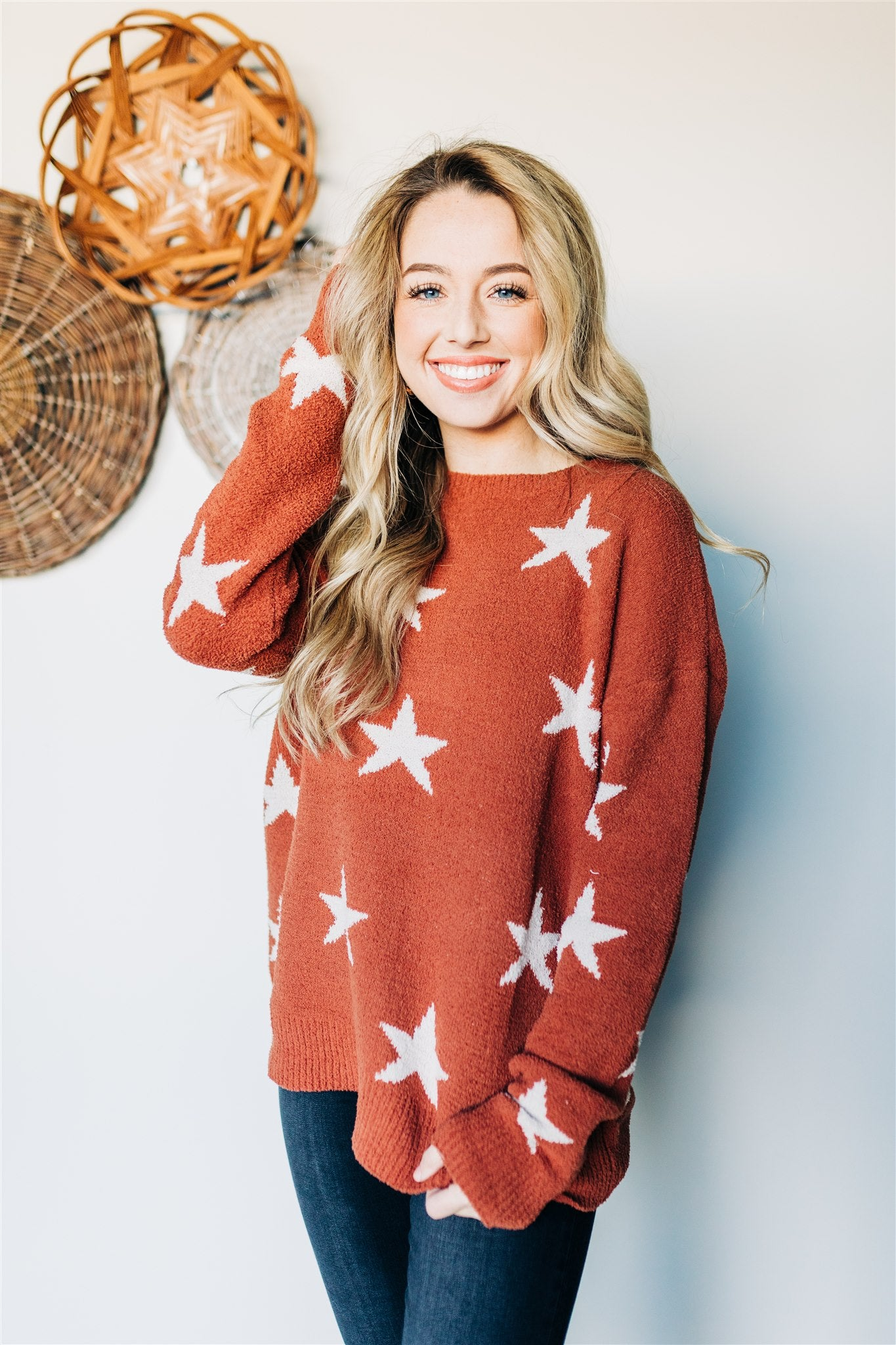 A Star Is Born Sweater - Rust