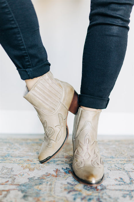 Jocelyn Booties - Taupe