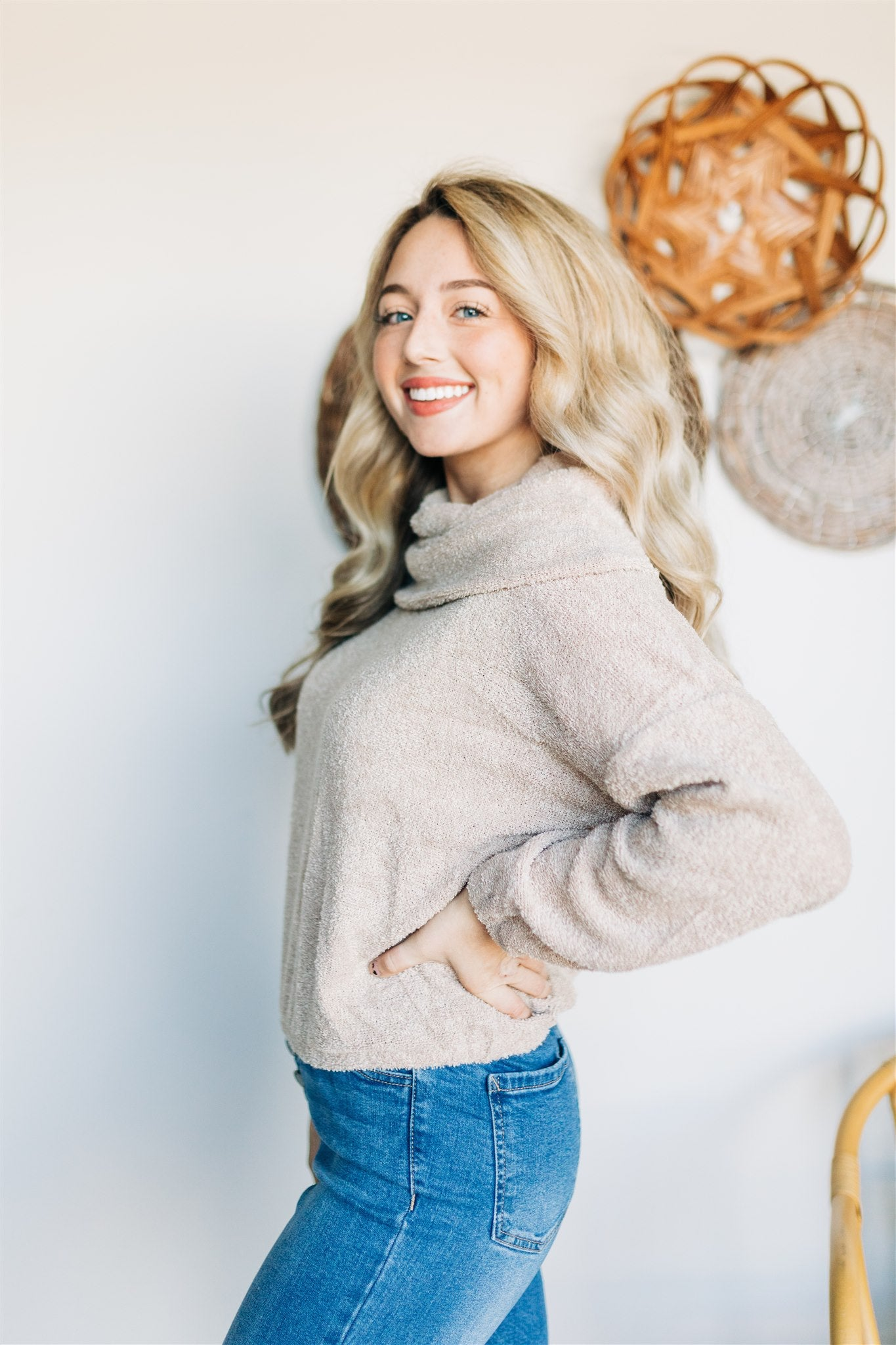 Face the Facts Sweater - Taupe