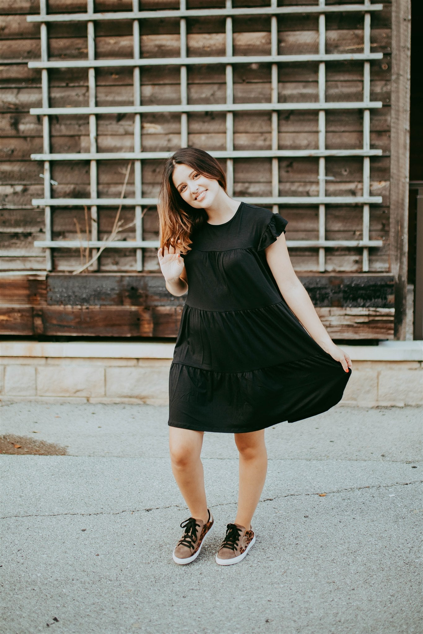 All Around Town Dress - Black