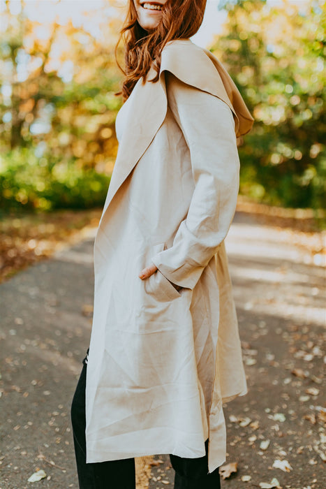 After Hours Coat - Cream