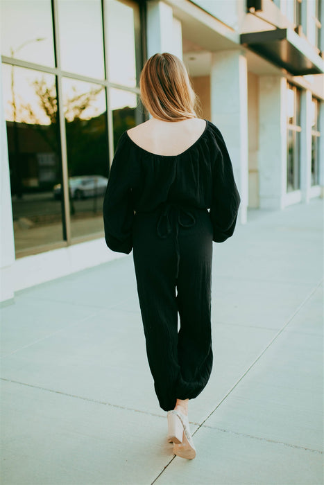 Make It Effortless Jumpsuit - Black