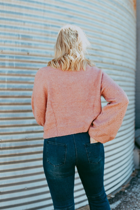 Chasing Dreams Sweater - Mauve