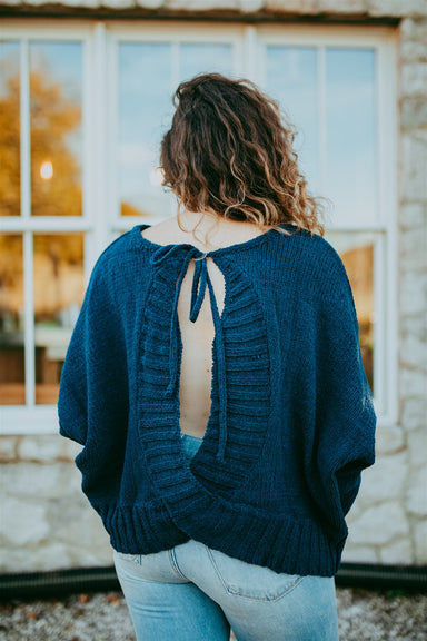 Spice Things Up Sweater - Navy