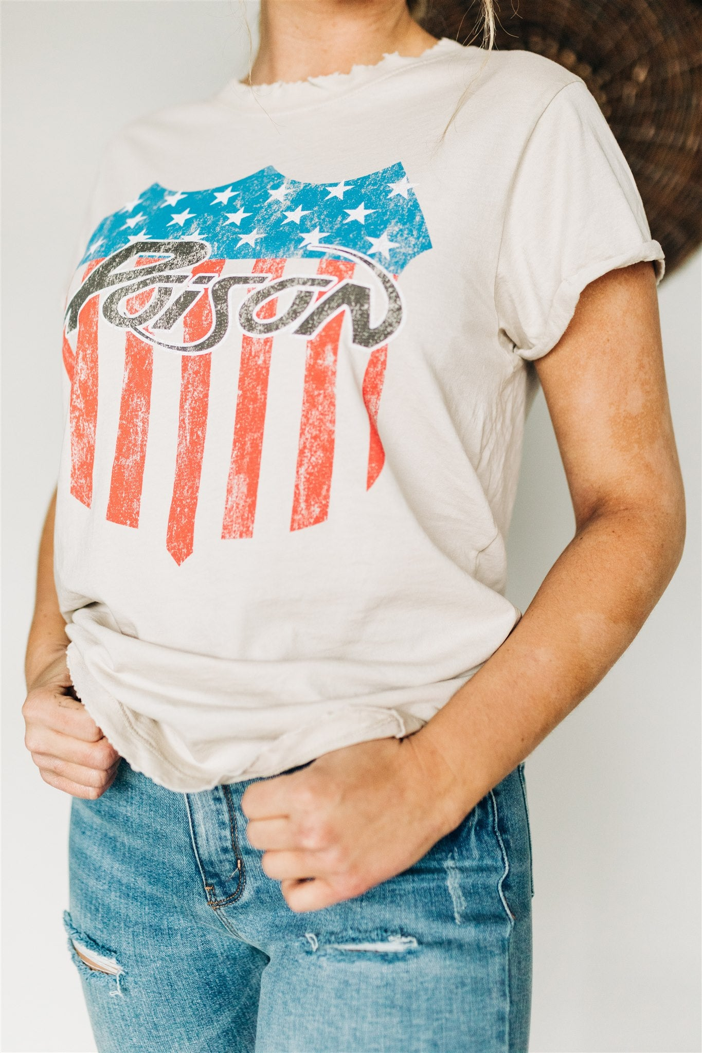 Poison American Crest Tee