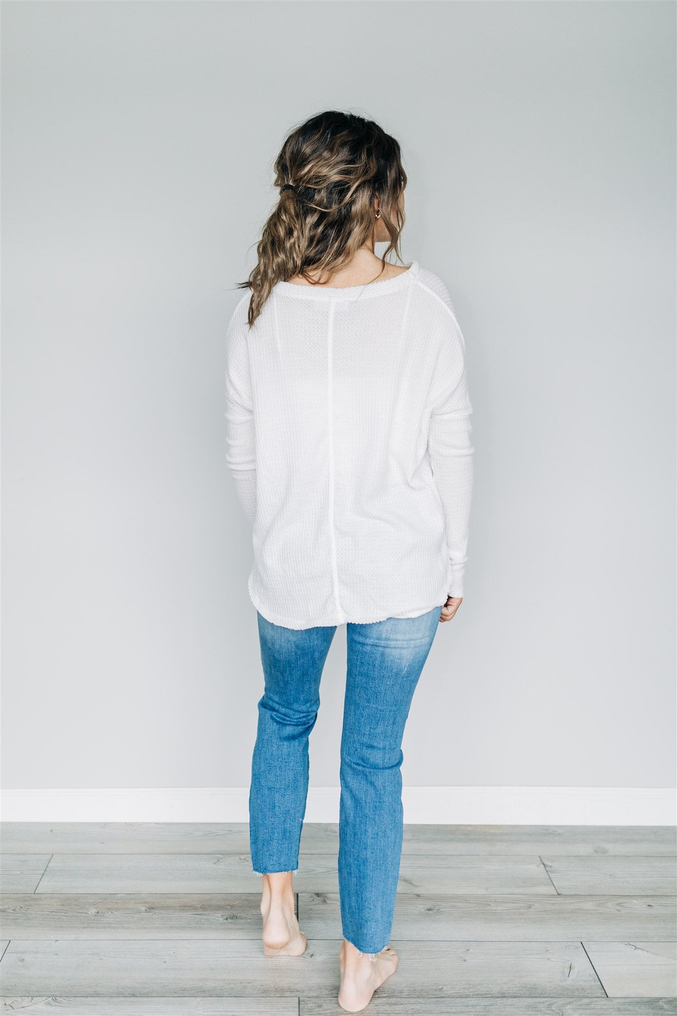It's Just That Simple Top - Ivory