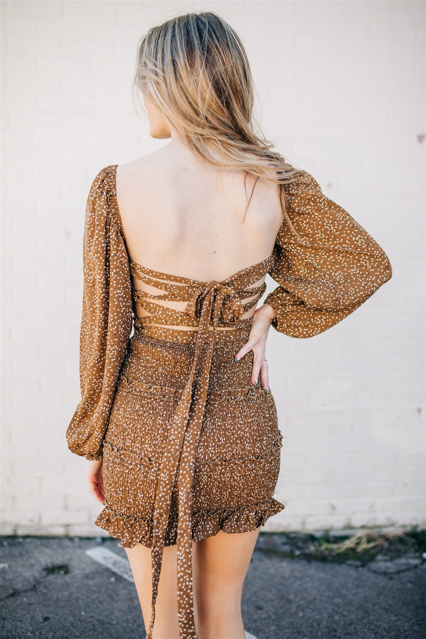 Better with You Dress - Mocha