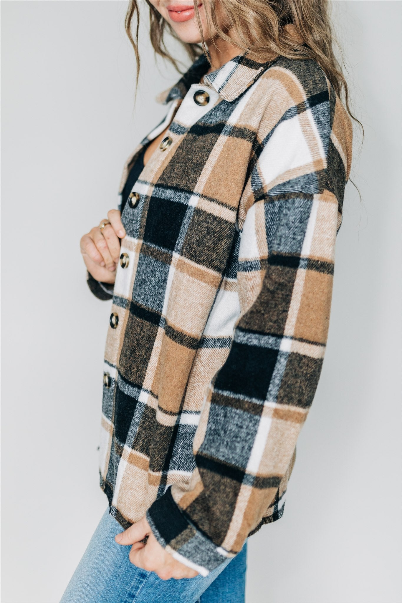 Happiness Oversized Flannel