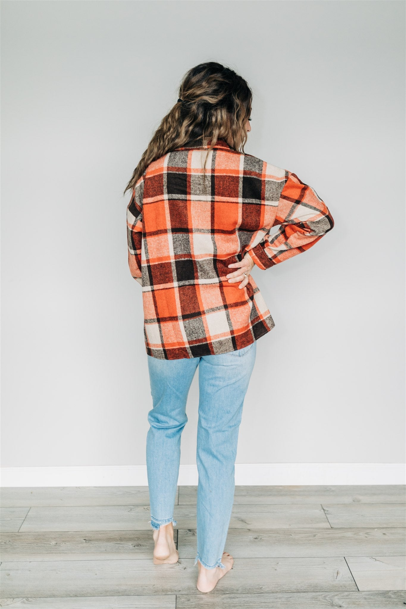 Ivy Oversized Flannel