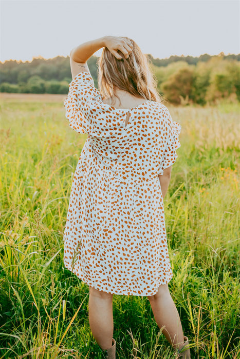 Willow Mini Dress - Ivory