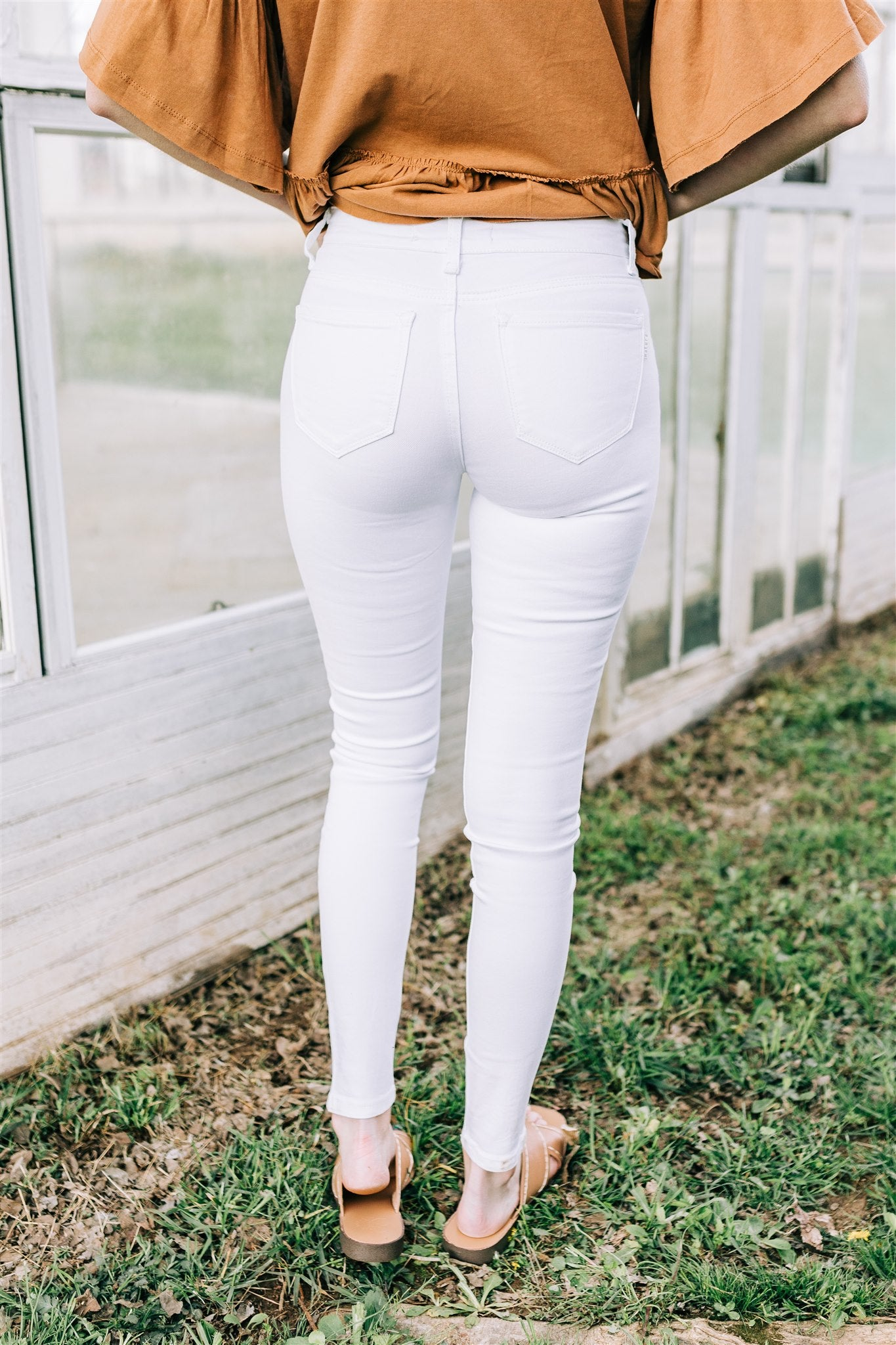 Get With It Jeans - White