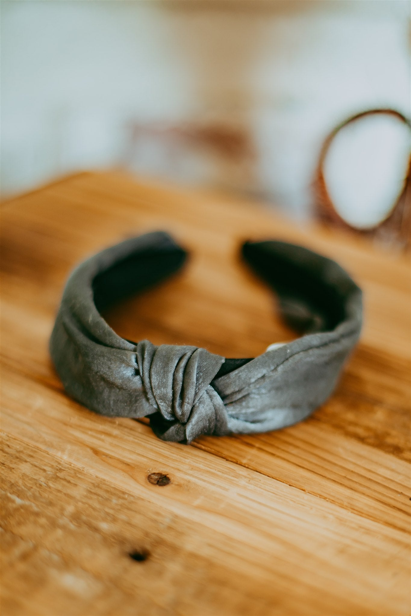 Solid Headband - Gray