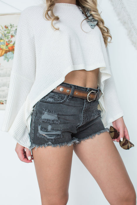 Summer Nights Shorts - Black