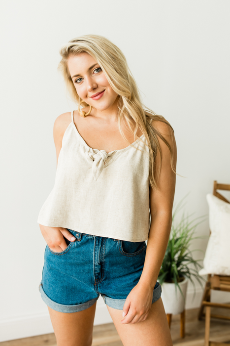 Made For Anything Tank Top - Natural