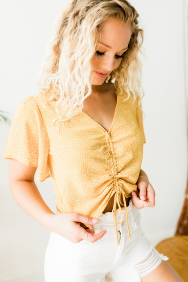 Sunflower Top - Yellow