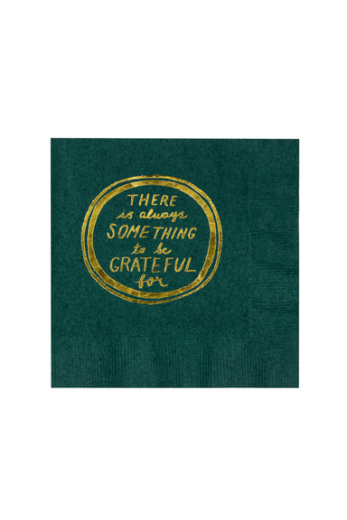Cocktail Napkins, Something To Be Grateful For (MH)