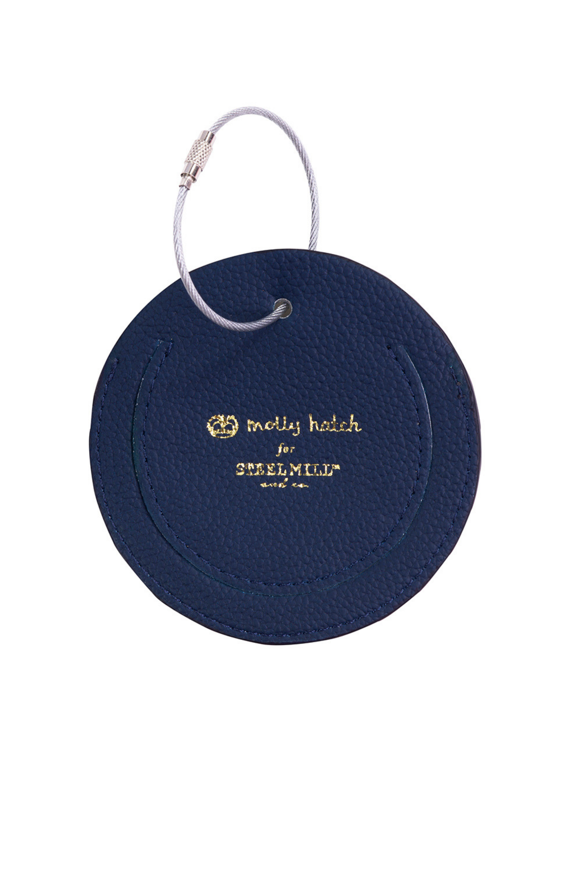 Seek Adventure Luggage Tag - Navy