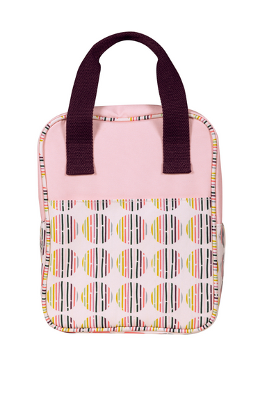 Lunch Tote, Dot Stripe