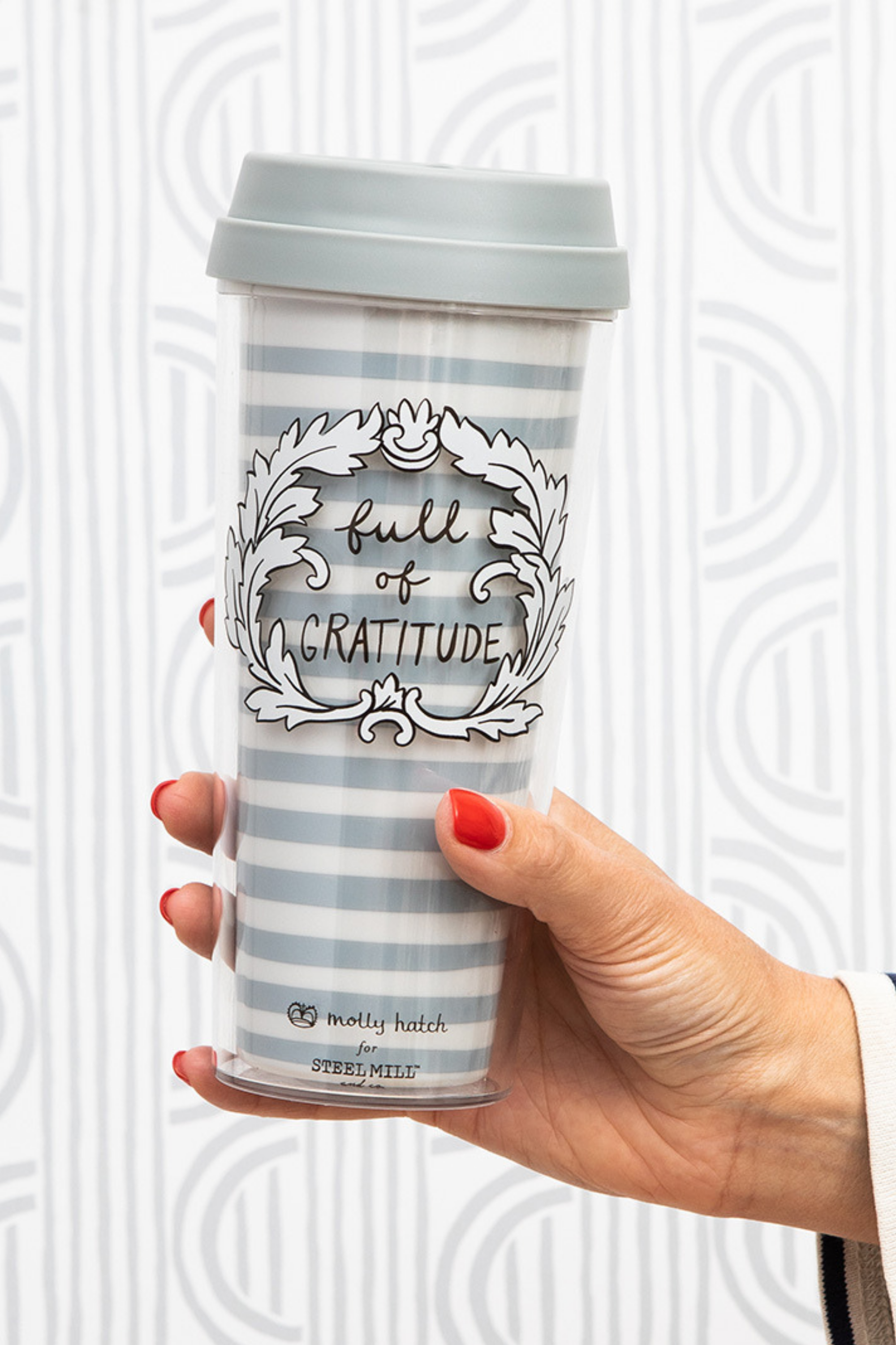 Full Of Gratitude Thermal Mug