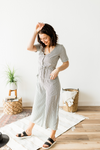 Play All Day Jumpsuit - Taupe & Black