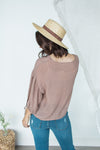 Show Sleeve Blouse - Dry Rose