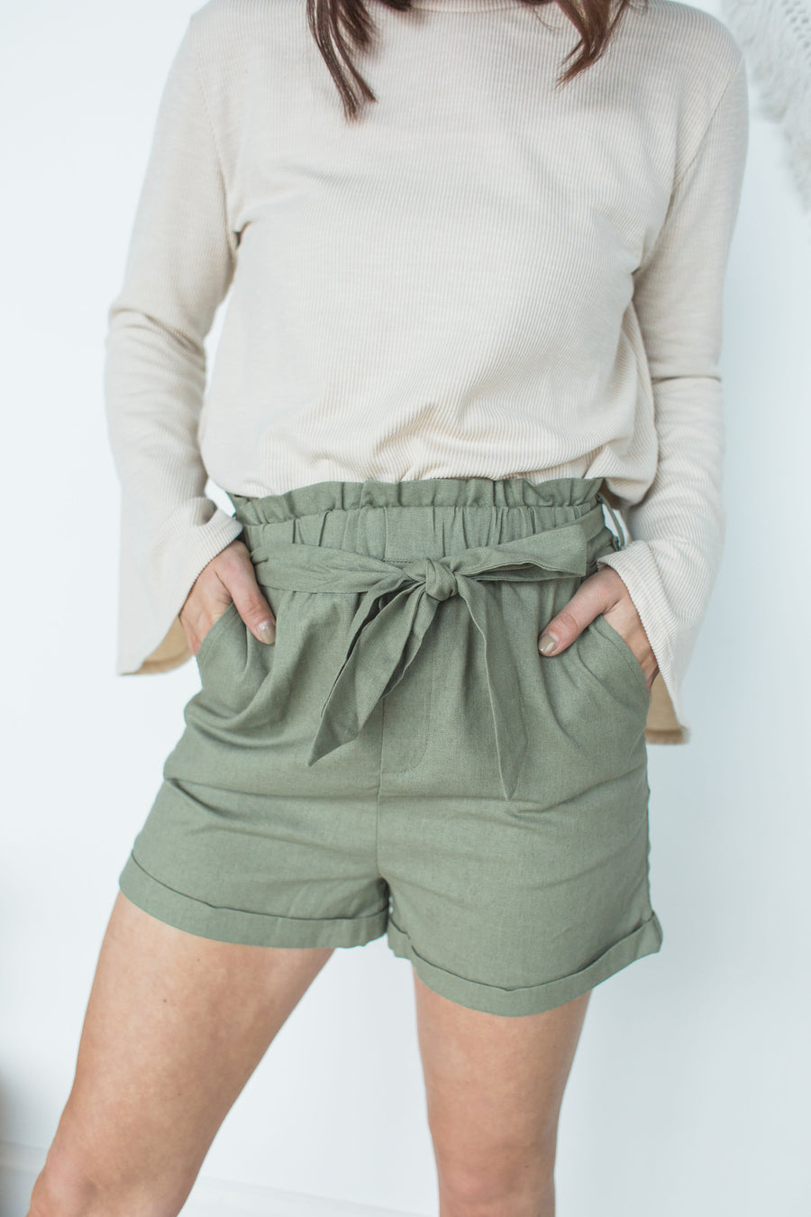Sure Thing Shorts - Olive