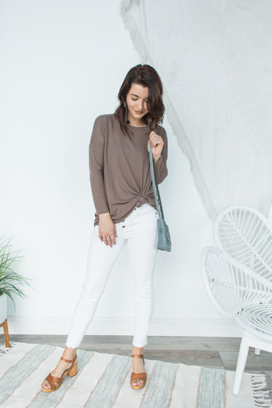 Feel For Comfort Top - Umber
