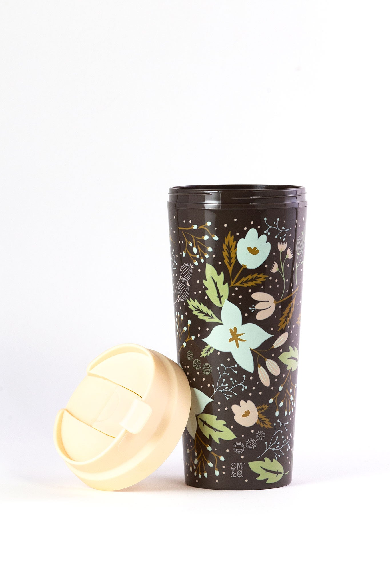 Thermal Mug, Winter Floral
