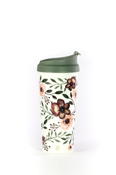 Thermal Mug, Woodland Floral
