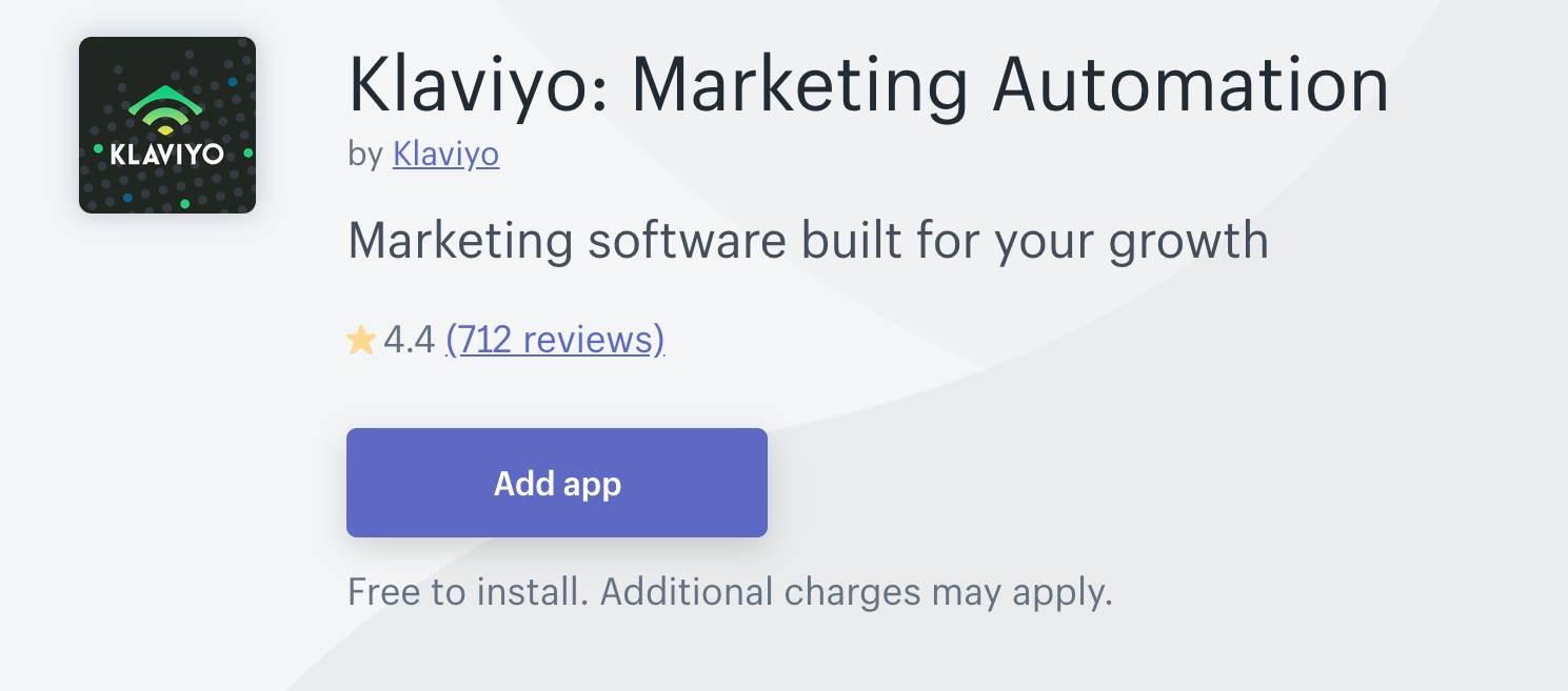 Klaviyo: Marketing Automation(メールマーケティング)