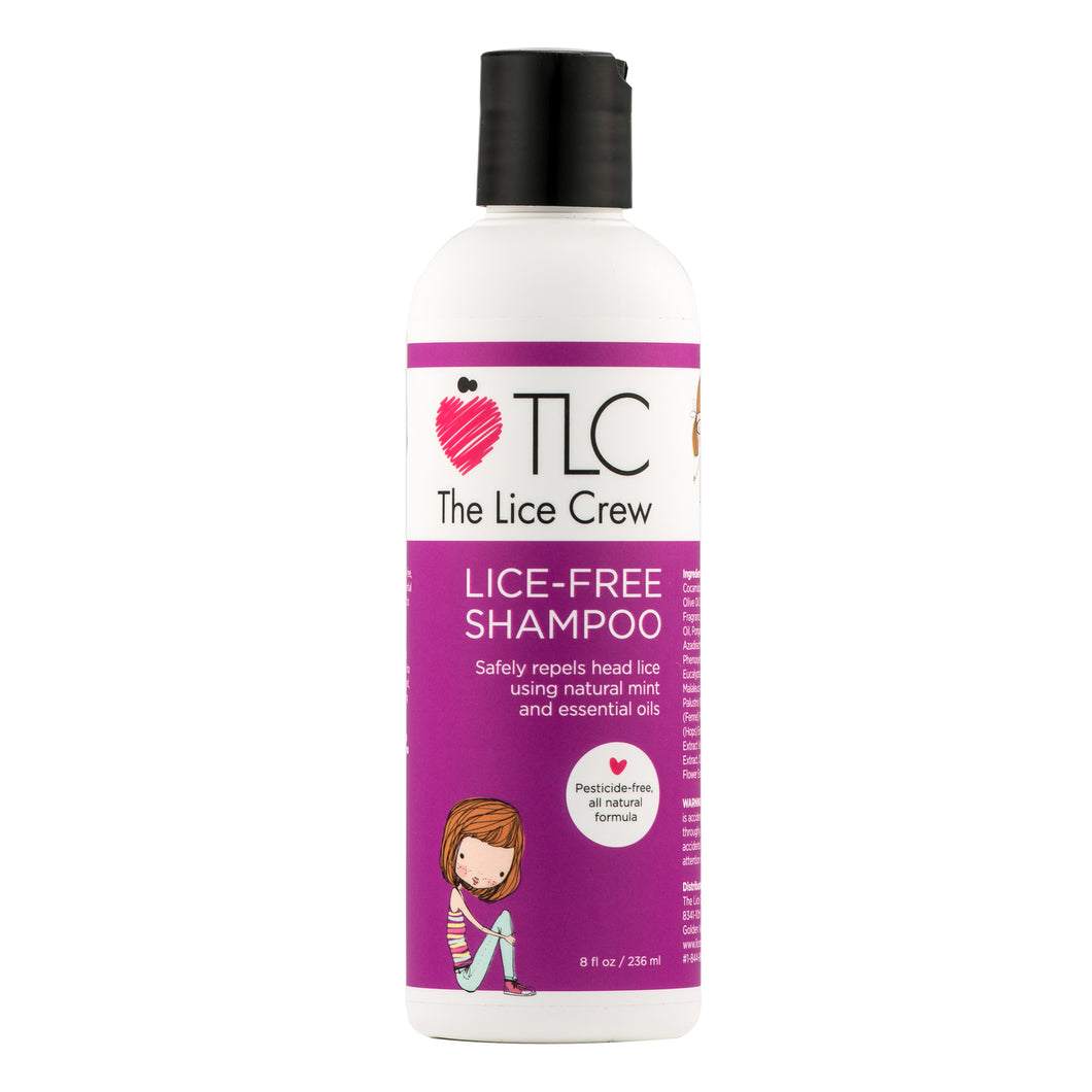 Lice Free Shampoo (8oz/236ml)