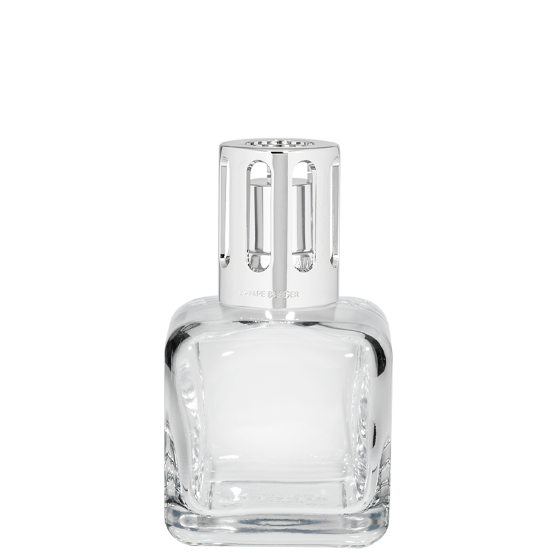 ICE CUBE Clear Crystal Lampe Gift Set By Maison Berger
