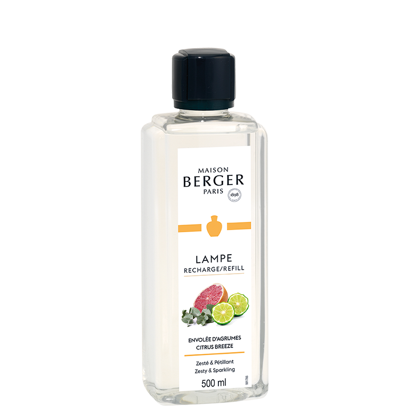 Citrus Breeze- Lampe Maison Berger Fragrance - 500Ml