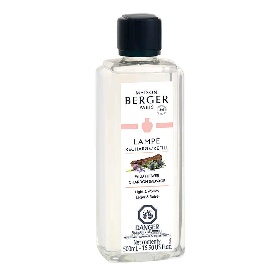 Wild Flower - Lampe Maison Berger Fragrance - 500 Ml