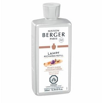 Velvety Suede - Lampe Maison Berger Fragrance - 500 Ml